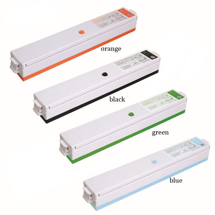 Food Vacuum Sealer Packaging Machine 110V 220V Film Sealer Vacuum 15Pcs Packer Saver Storage Rolls  Bags Best Vacuum Food Sealer