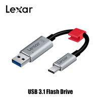 Original Lexar JumpDrive C20c USB C Three in one flash drive High speed Pen drive USB3.1 Type C phone computer dual use cle usb