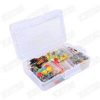 Robotlinking Starter Kit for Arduino Resistor /LED / Capacitor / Jumper Wires / Breadboard resistor Kit