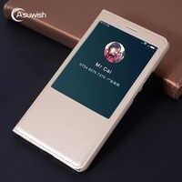 Leather Magnetic Smart View Cover Flip Case For Xiaomi Mi Max 1 2 3 Mimax Pro Mimax2 Mimax3 Max2 Max3 Xiomi Xaomi Phone Case