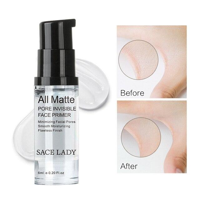 SACE LADY Face Hydrating Makeup Base Primer Gel Liquid Natural Moisturizer Long Lasting Facial Invisible pores Cream TSLM1