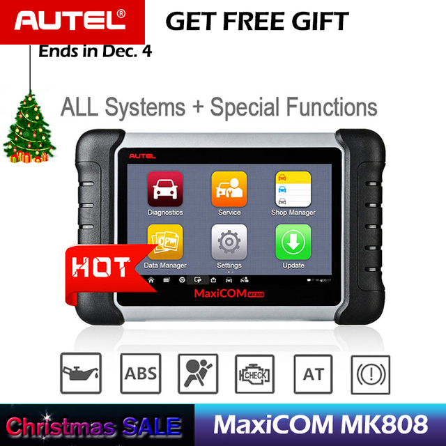 Best Offers Autel MK808 Car diagnostics obd2 Diagnostic tool Auto diagnostics obd 2 Scanner automotivo MK 808 MX808 Autel diagnostic scanner