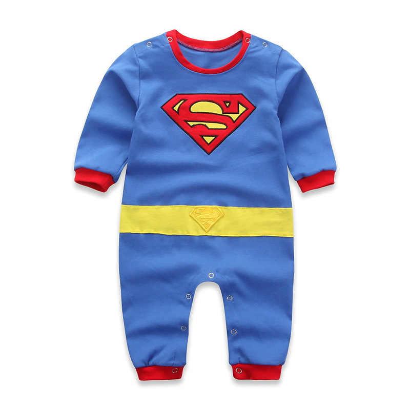 Bebê macacão superman bruce lee manga comprida de manga curta macacão com blusa dia das bruxas traje de natal presente menina meninos