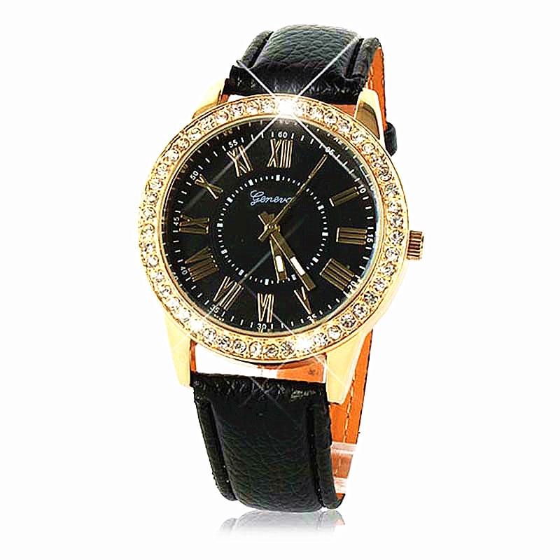 Fabulous Modni sat Ženske dame gils Crystal Quartz Watch Dress - Ženske satove