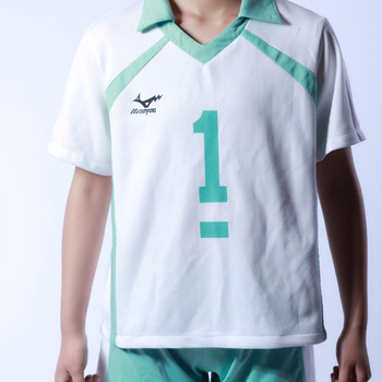 Anime Haikyuu!! Aoba Johsai High School Volleyball Club Jerseys Oikawa Tooru Sportswear Cosplay Costume Shirts+Pants 2