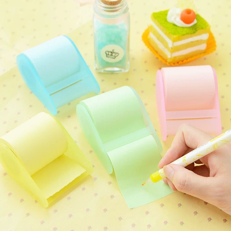 Stationery Tape Seat Sticky Notes post it Memo Pad Korean Planner Stickers Stationery Home Office School Sticky 6556