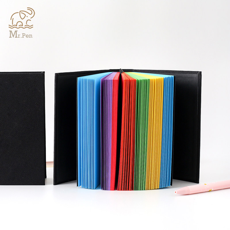 Creative Rainbow Color Pages Notebook Diary Book Hardcover Diary