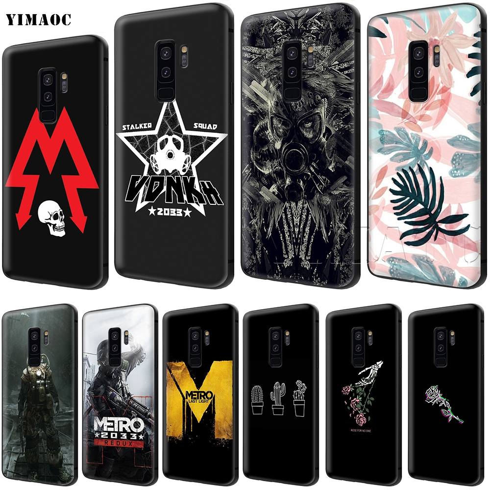 YIMAOC Metro 2033 Soft Silicone Case for Samsung Galaxy S6 S7 Edge S8 S9 Plus A3 A5 A6 Note 8 9