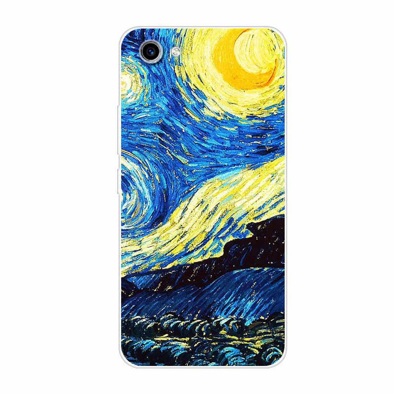 Телефон крышка для Vivo Y81 Y 81 YivoY81 чехол 6,22 дюймов мягкий чехол из ТПУ с изображением нарисованной мультяшной для Vivo Y81 силиконовый чехол Capas Fundas Coque