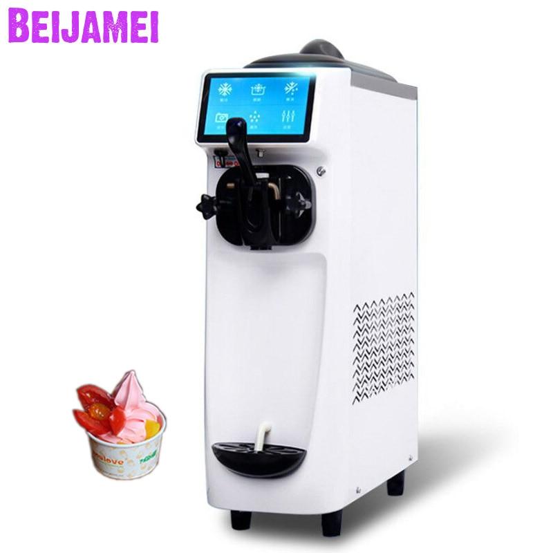 Beijamei фабричная машина для мягкого мороженого электрическая техника машина для производства мороженого Коммерческая домашняя машина для м