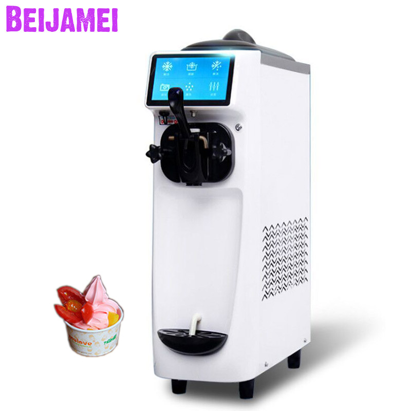 Beijamei Factory Soft ice cream machine electrical appliances ice cream maker commercial home ice cream machine Beijamei Factory Soft ice cream machine electrical appliances ice cream maker commercial home ice cream machine
