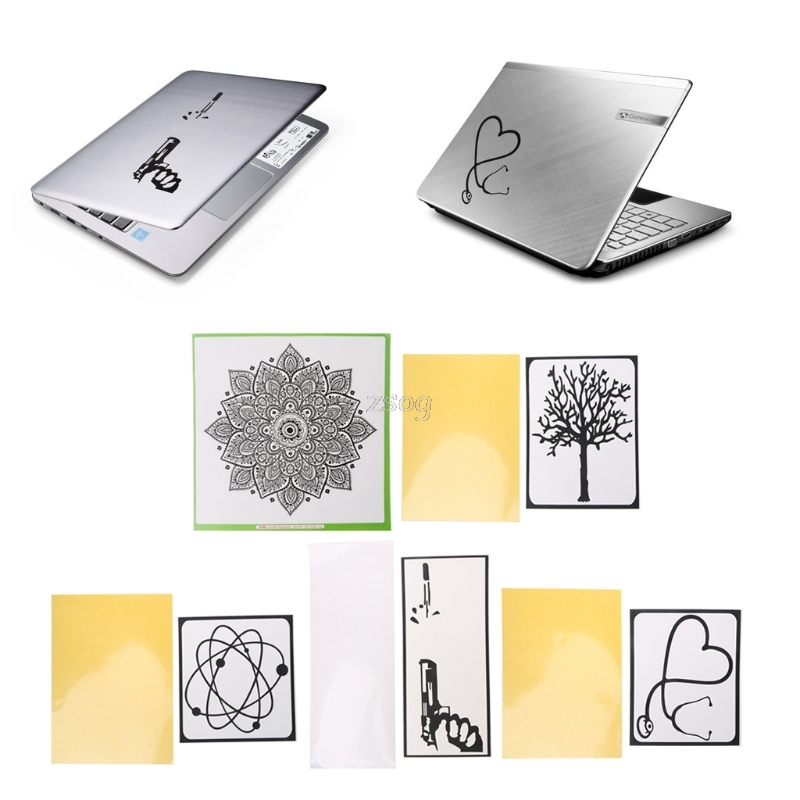 Laptop Sticker For MacBook General Funny PVC Decorations Decal Sticker JUN01 dropship