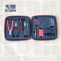 Not Coil Master V2 DIY tool kit but wire jig with ceramic tweezer&ohm tester for RDA/RTA atomizer updated quality