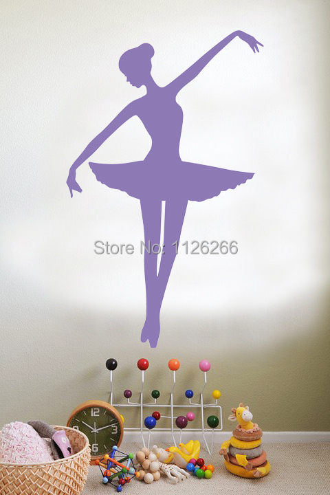 Ballerina Ballet Dancer Vinyl Wall Sticker Arts