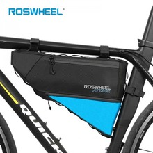 Roswheel ATTACK Waterproof Saddle Bag Outdoor Sports Cycling Bicycle Bag MTB Bike Front Frame Tube Triangle bag cycling backpack