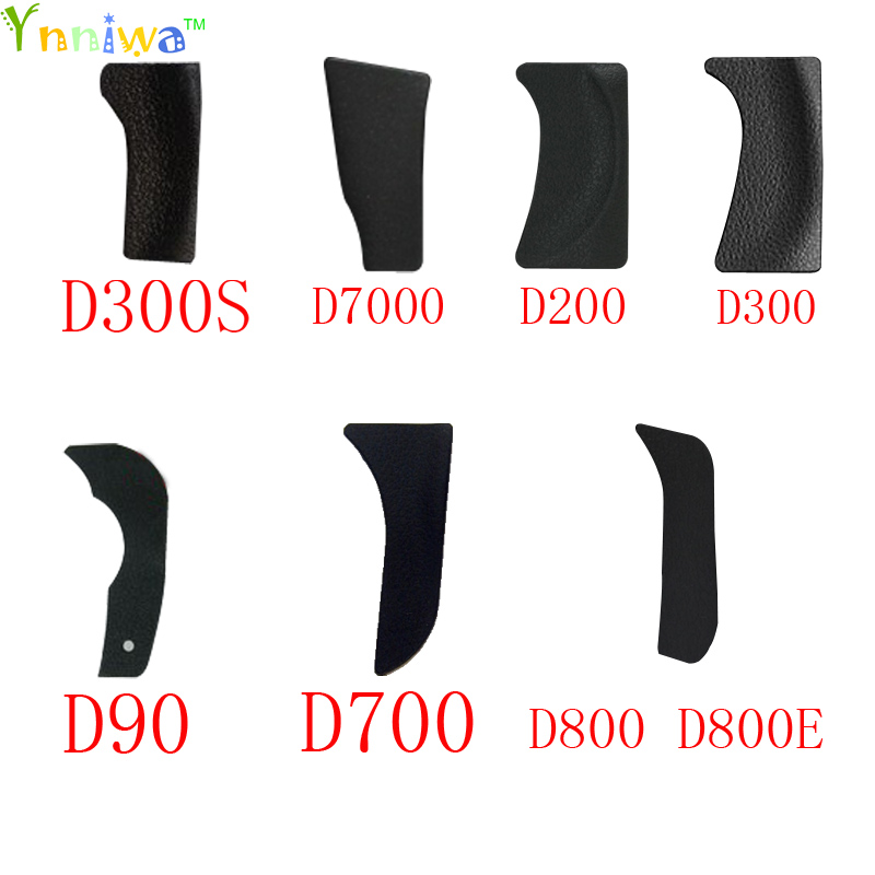 For Nikon D90 D700 D7000 D300S D800 D800E D200 D300 The Thumb Rubber Back Cover Rubber DSLR Camera Replacement Unit Repair Part