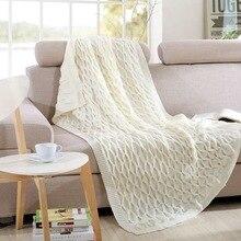 2107 Stripe Flower Super Soft Flannel Fleece Winter Brown Blankets On Bed Plaid Throw Traval Blanket 3 sizes