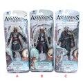"""3 шт./лот 6 """"15 см Neca Игрушки Assassin's Creed 4 Black Flag PVC Фигурки Игрушки Эдвард Kenway и т. д. Коллекция Модель Бесплатная Доставка"""