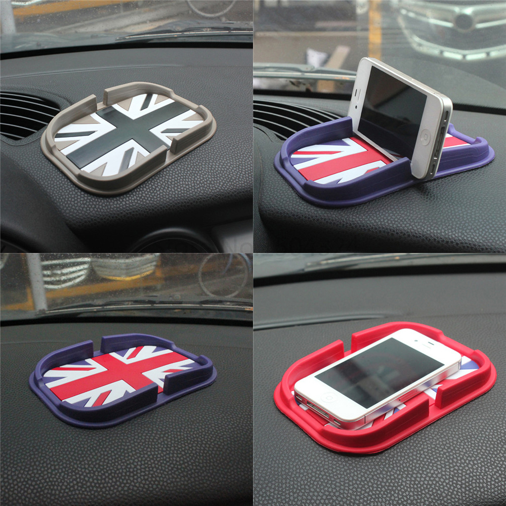 Silica Gel Mat Car Dashboard Sticky Mobile Phone Pad For Mini Cooper JCW One+ S R56 R61 R55 R60 F54 F55 F56 F60 Car Accessories