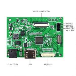 Image 3 - HD MI placa controladora LCD VS TYEDP V807 trabajo para 10,1 pulgadas 1280x800 30pin edp LCD: TV101WXM NP1 NV101WXM N51 B101EAN01 8
