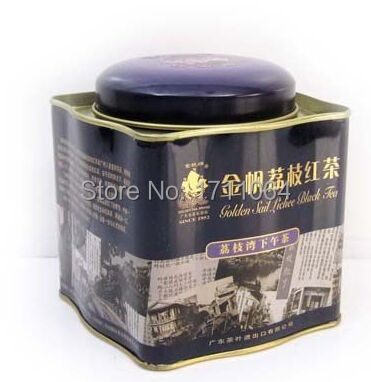 China litchi Lychee black tea 180g loose tea bag hot selling products chinese the tea font