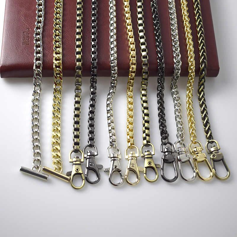 Encontro 120 centímetros Bolsa Correntes De Metal Saco Alça de Ombro Bolsa Lida com Fivelas Saco de Peças de Reposição Acessórios