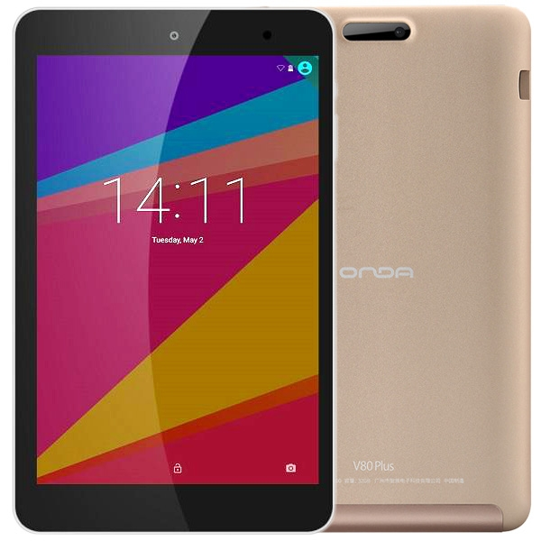 8 0 inch ONDA V80 Plus Intel X5 Z8350 1 94GHz Android 5 1 Single OS