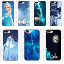 For Samsung Galaxy I9082 Note 4 8 9 S3 S4 S5 S6 S7 S8 S9 S10 Edge Plus Lite G313 Soft Shell Phone Case Snow Queen(China)