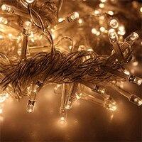 Высокое Качество Firefly стиль Гирлянды светодиодные огни с ЕС Plug 220 В для праздника/свадьба/банкета/танцев/ вечерние/сада