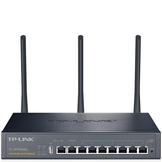 tp link tl wvr458g 8 port gigabit wireless router enterprise class