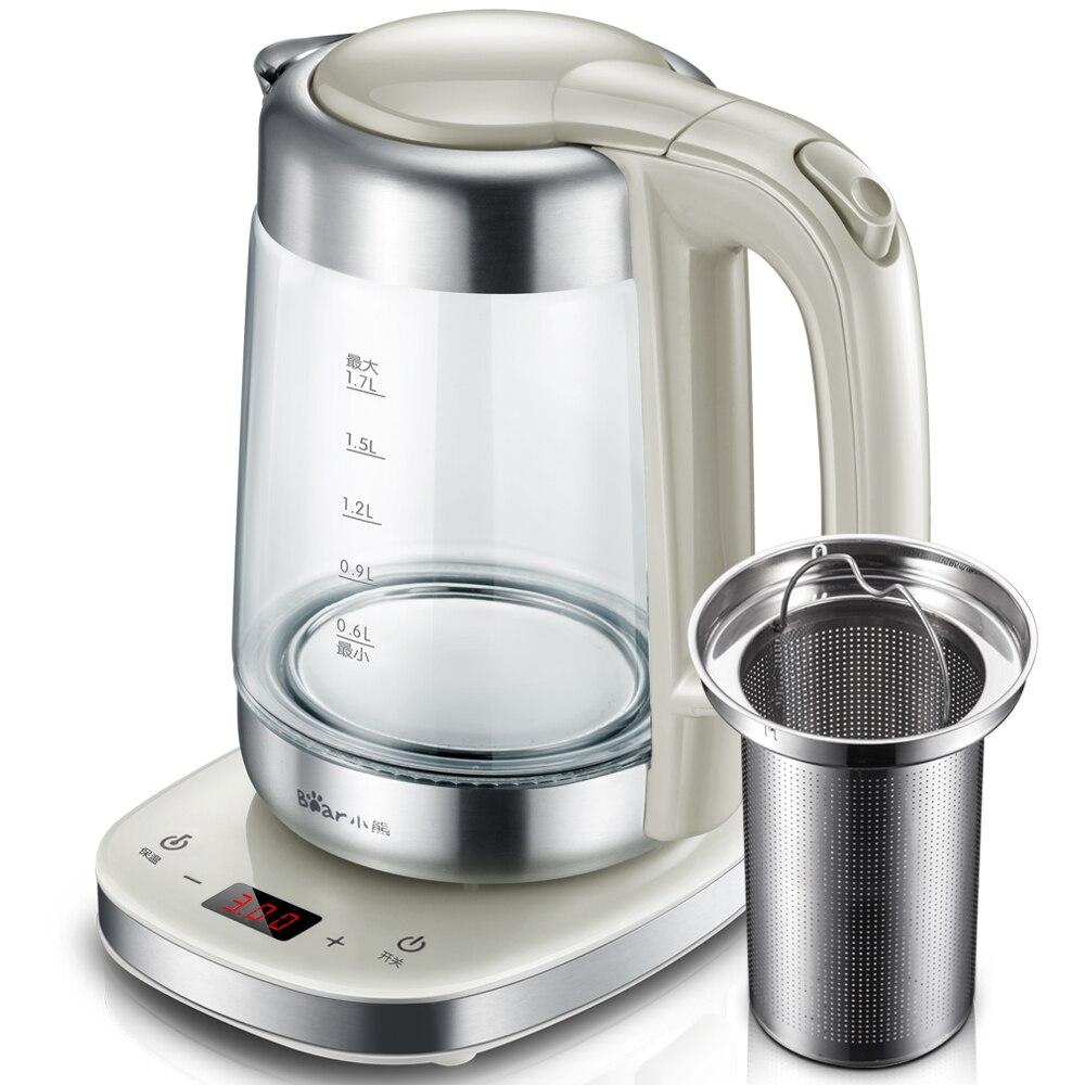 Bouilloire électrique chauffe-eau bouilloire filtre 1.7L contrôle de température automatique théière chaudière bureau ménage ZDH-A17J1