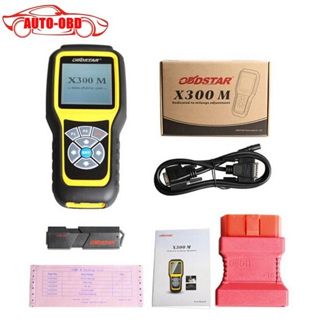 OBDSTAR X300M X300 M Quilometragem Ajustar Ferramenta de Diagnóstico OBDII Odómetro Correção (todos os Carros Pode Ser Ajustado Através do Obd) atualizar Através de Cartão de TF