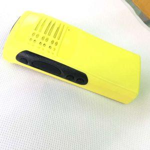 Image 4 - Obudowa GP328 obudowa przednia powierzchnia skorupy + osłona przeciwpyłowa + pokrętło do radiotelefonu Motorola GP328 GP5150 GP340 DIY Walkie Talkie