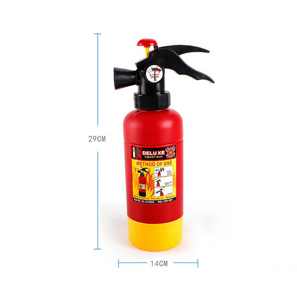"""Zabawki dla dzieci typu """"Pull"""" gaśnica pistolet na wodę czapka straży pożarnej kostium na plaży udawaj zagraj zabawki miniaturowe zestaw zabawek dla dzieci"""