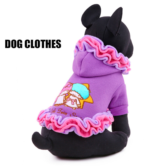 petcircle pet dog clothes winter Ice cream lace dog coats for chihuahua yorkshire graceful dog skirts for small and large dogs