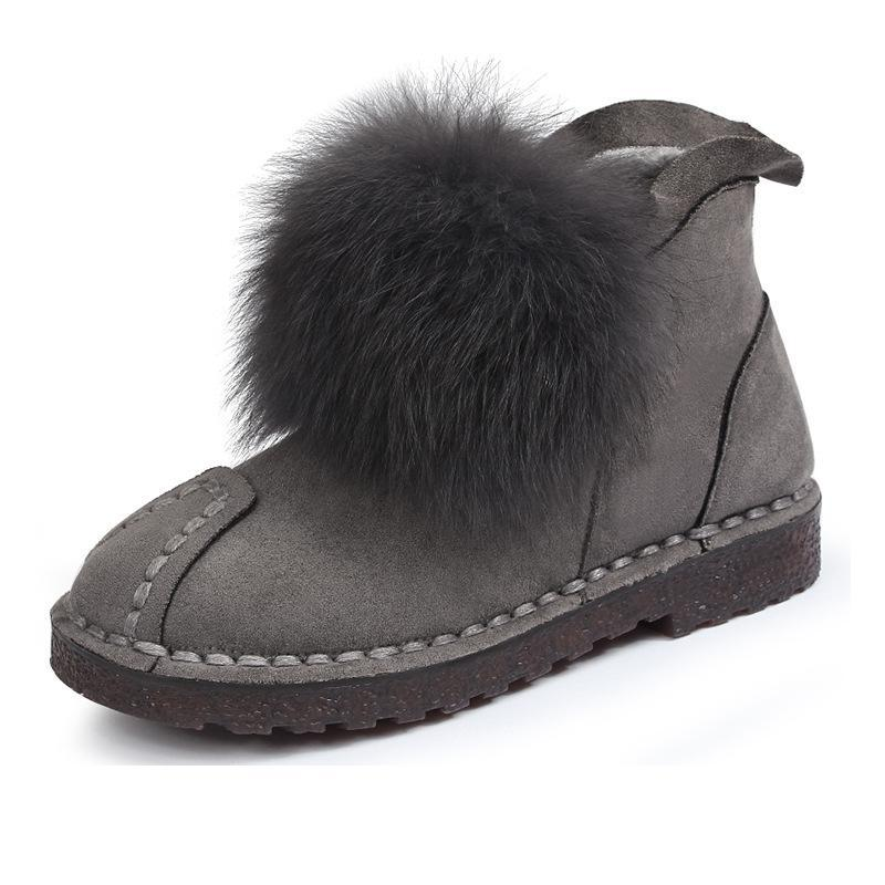 Moyen Haute D'hiver photo Qualité Femelle D'âge Color De Neige Marque Mode Color Épais Célèbre Mère Photo Femmes Chaussures Chaud Bottes WdoQBeCxr