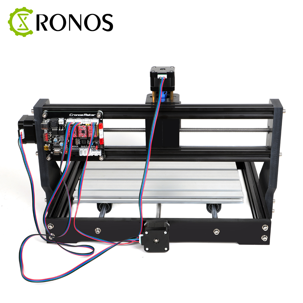Image 2 - CNC 3018 Pro+Offline Laser Engraver Wood DIY CNC Router Machine ,Pcb Milling Machine,Wood Router,GRBL Control,Craved On Metal-in Wood Routers from Tools