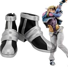 Обувь для костюмированной вечеринки в стиле необычного приключения Джоджо Цезарь Антонио цеппели; ботинки на заказ любого размера