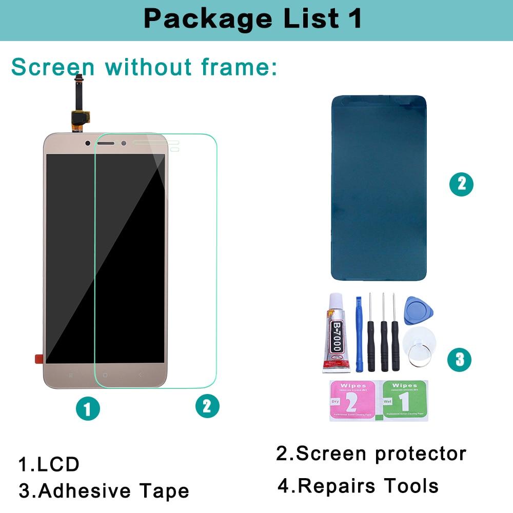 "5.0"" Original LCD For XIAOMI Redmi 4X Display Touch Screen with Frame For XIAOMI Redmi 4X LCD Display 4X Pro LCD Screen"
