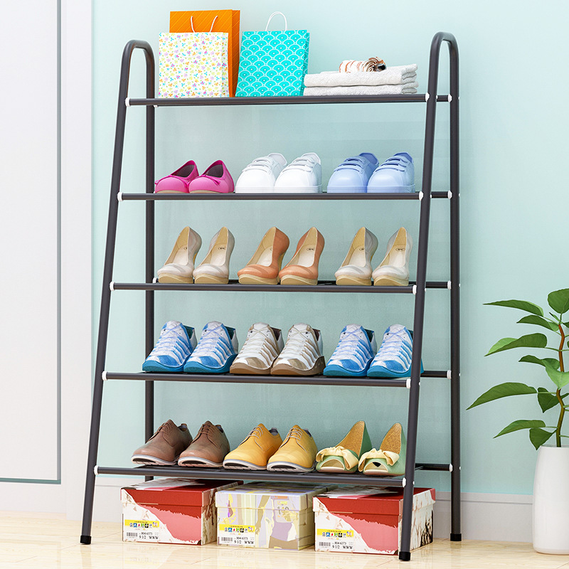5 Tier Shoe rack iron tube Shoes Storage Organizer Shelf Easy Assemble stable Stand Living Room Shoe cabinet Furniture5 Tier Shoe rack iron tube Shoes Storage Organizer Shelf Easy Assemble stable Stand Living Room Shoe cabinet Furniture