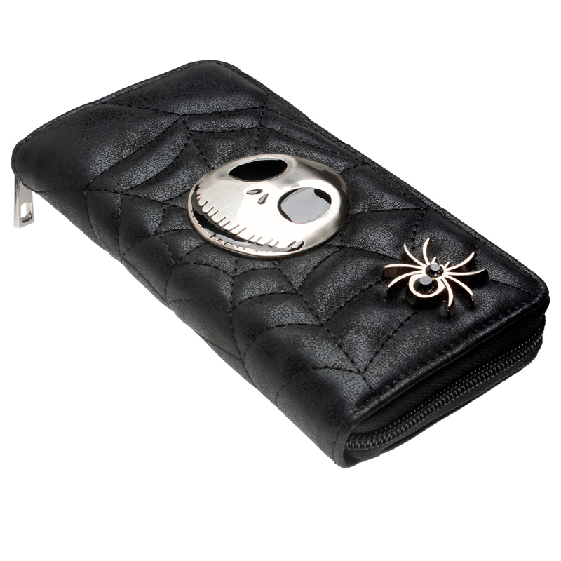 Jack Skellington Wallet women purse DFT-5048Jack Skellington Wallet women purse DFT-5048