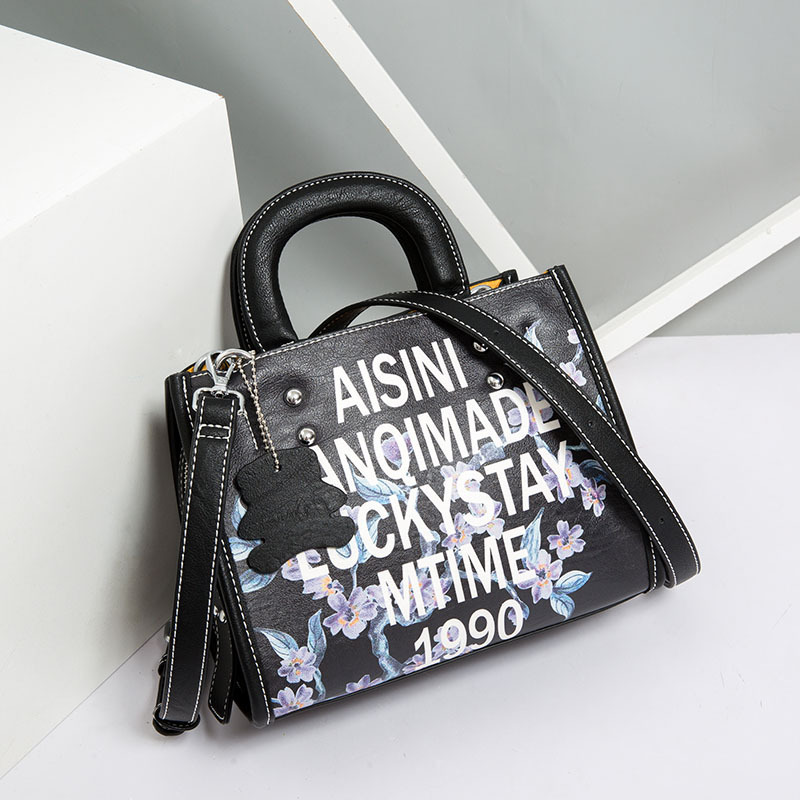 Printed Letters Handbags New Hot Brand Women Small Tote Bag Hand Bag Famous Designer High Quality Handbags Sac Main Femme Bolsas new hot brand women large tote bag female designer handbags high quality sac a main femme de marque celebre bolsas kabelky n341