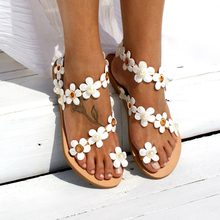 Summer Bohemian Beach Sandals Women Shoes Flat Heels Fashion
