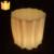 LED light up bar fezes banquinho de plástico iluminado bar Ao Ar Livre e indoor piscando cadeira da Barra de plástico fantasia Frete grátis 10 pçs/lote
