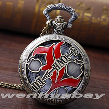 Steampunk Comic Death Note Pocket Watch Necklace