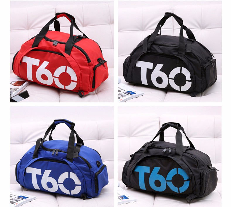 2017 Brand New Men Sport Gym Bag For Women Fitness Waterproof Outdoor Unisex With Separate Space For Shoes And Hide Backpack2