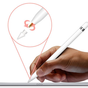 Punta de repuesto de silicona blanda de alta sensibilidad para Apple iPad Pencil iPencil Stylus Accesorios