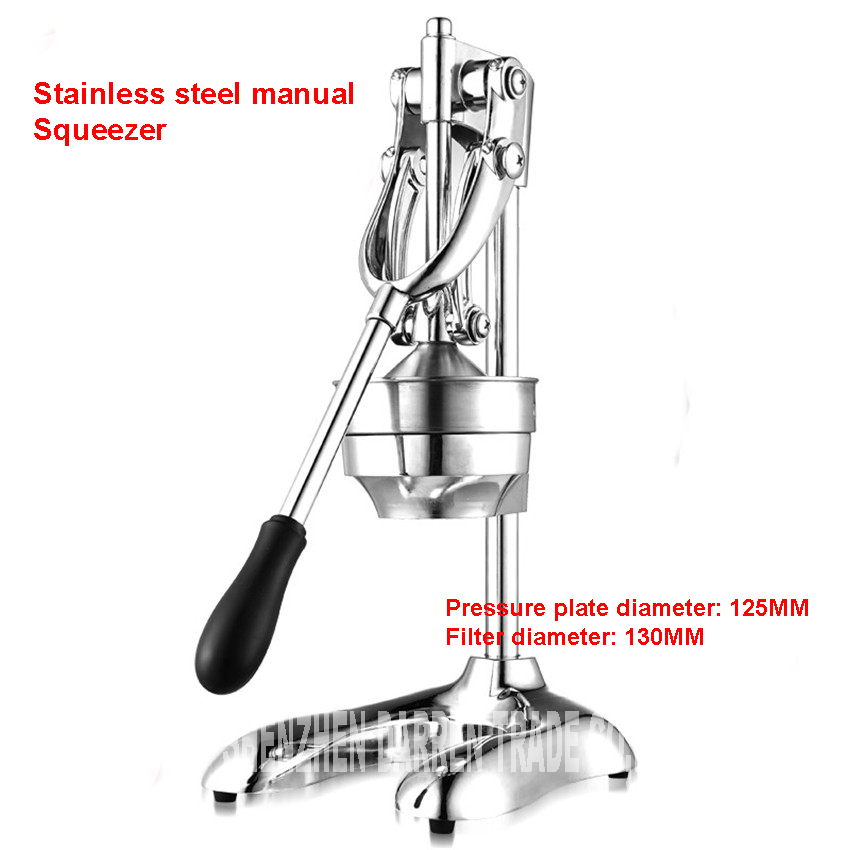 Home 304 Stainless steel citrus juicer orange lemon lemon fruit juicer manual hand press juicer commercial pressing machine fruit orange lemon opener peeler zester citrus fruit skin remover finger type