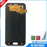 100% New LCD For Samsung Galaxy A5 2017 A520 A520F A520DS LCD Display Screen Display Touch Digitizer Replacement Assembly