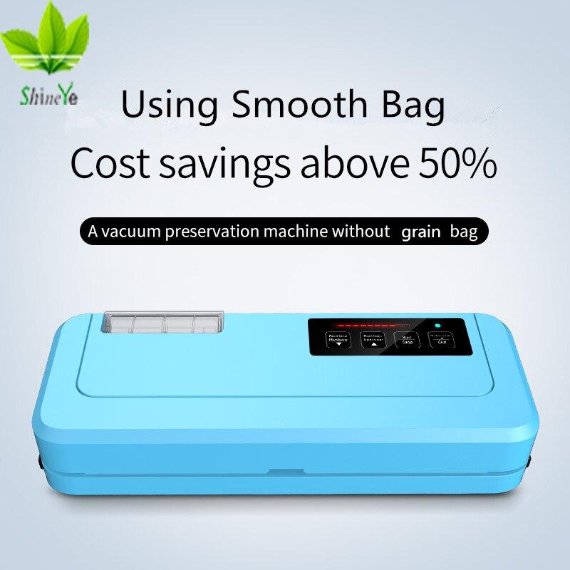 ShineYe New 2018 Household Vacuum Sealer Packaging Machine 110 220V Vacuum Packer Include Vacuum Bags Gift Can Keep Food Fresh